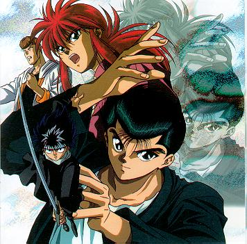 The latter part of the series was all about just Yusuke, Kurama and Hiei.
